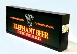Insegna luminosa Elephant Beer