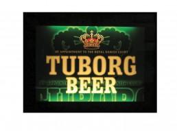 Insegna luminosa Tuborg